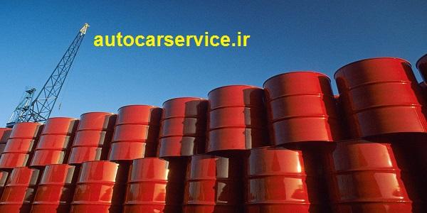 قیمت روغن سوخته موتور بشکه 208 لیتری امروز